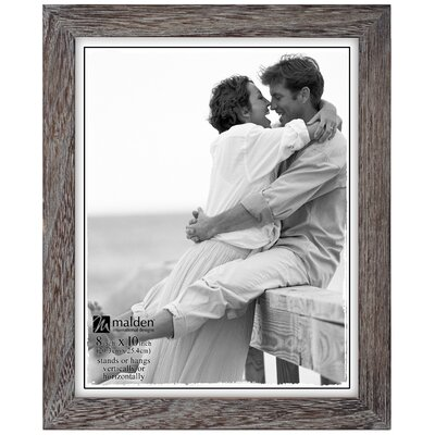 "Gray Ridge Linear Picture Frame Size: 8"" x 10"" 803-80"