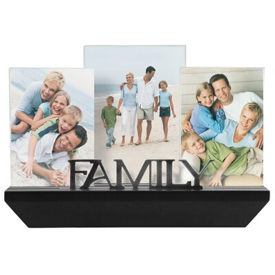 3 Piece Family Shelf Picture Frame Set