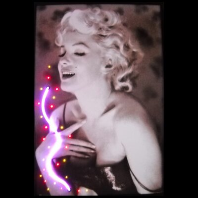 Marilyn Monroe Framed Photographic Print