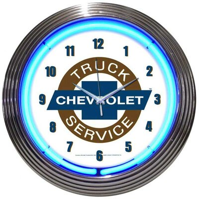 "Neonetics Cars and Motorcycles 15"" Chevy Truck Wall Clock at Sears.com"