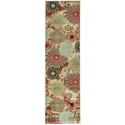 Barclay Delilahs Place Floral Suzani Area Rug Rug Size: Runner 27 x 910