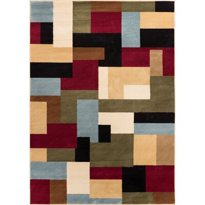 Barclay River Modern Area Rug Rug Size: Rectangle 53 x 73