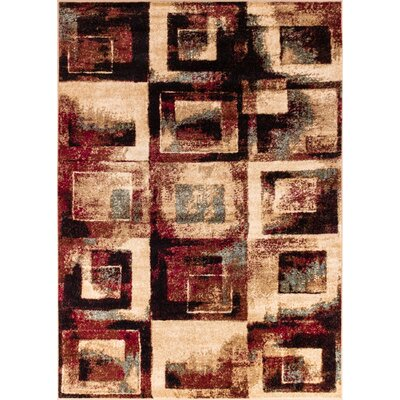 Barclay Union Squares Modern Area Rug Rug Size: 710 x 910