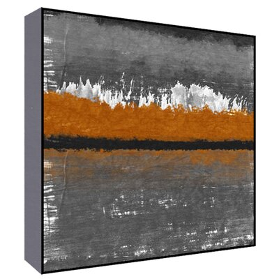 Orange Horizon I Wall Art Size: 36 H x 36 W x 1.5 D