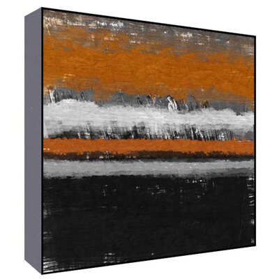 Orange Horizon II Wall Art Size: 36 H x 36 W x 1.5 D