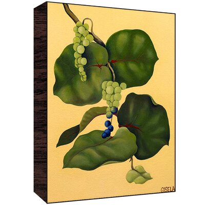 Grapes Wall Art Size: 30 H x 40 W x 1.5 D