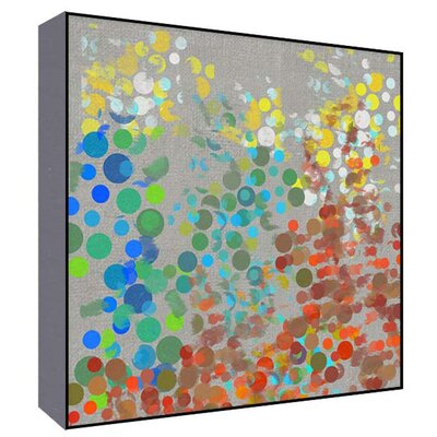 Colorful Cicles I Wall Art Size: 36 H x 36 W x 1.5 D