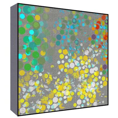 Colorful Cicles II Wall Art Size: 36 H x 36 W x 1.5 D