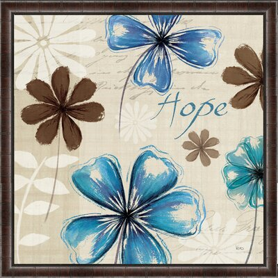 Field of Hope I Framed Painting Print Size: 36