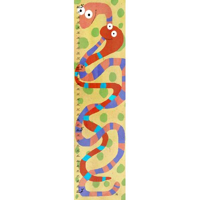 Red Snakes on Background Growth Chart YS440212dCG