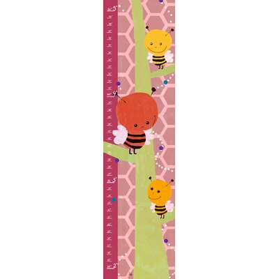 Yellow Bees on Background Growth Chart YS270112fCG