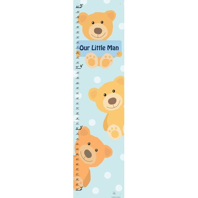 Yellow Bears on Background Growth Chart YS320412dfCG
