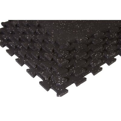 SuperLock Interlocking Floor Mat Color: Black and Gray