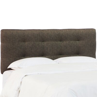 Terranova Pull Tufted Upholstered Panel Headboard Size: California King