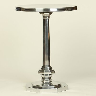 Value Octagonal Base End Table Finish: Polished Nickel