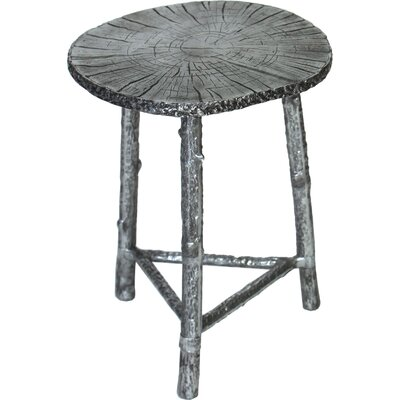 Syverson Inspired End Table Color: Pewter
