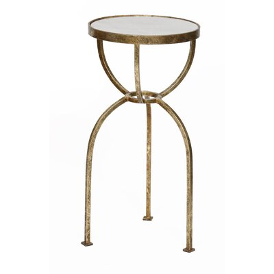 Tray Table Color: Gold Leaf