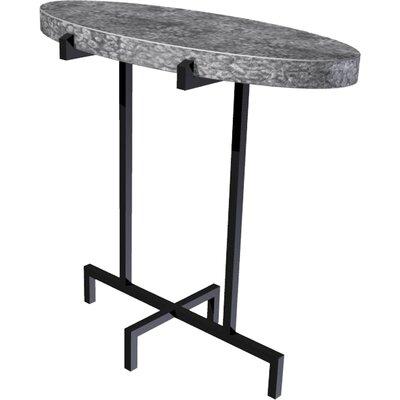 Dyal End Table Table Top Color: Zinc