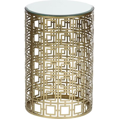 End Table Color: Brass