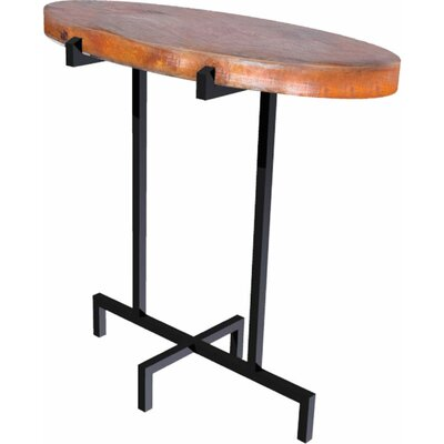 Dyal End Table Table Top Color: Copper