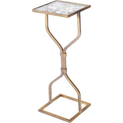 Hourglass End Table Finish: Antique Gold