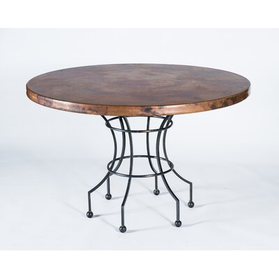 Dominic Dining Table Top Finish: Natural Copper