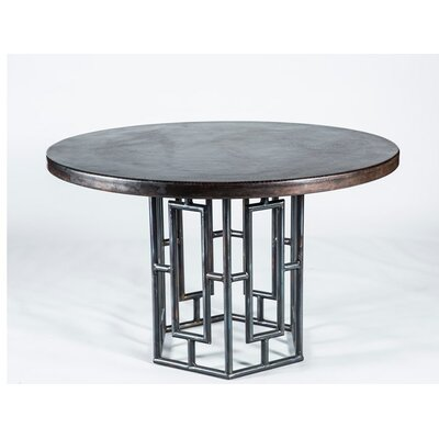 Dining room tableshudson dining table top finish dark for Dining room table 54 x 54