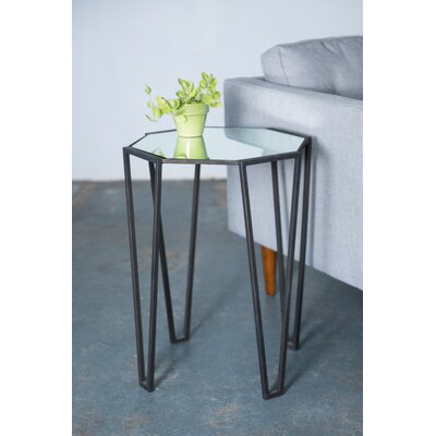 Lusby Pointed Leg End Table