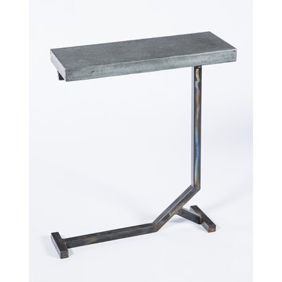 Hammered Collier End Table