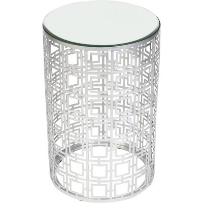 Lauver Cylinder Side Table