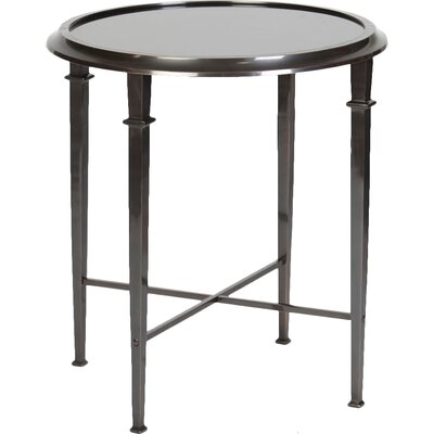 Berriman Tapered Legged Tray Table Color: Dark Bronze