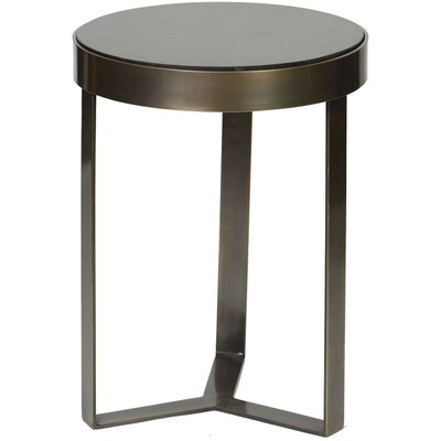 Shepherd End Table Color: Black