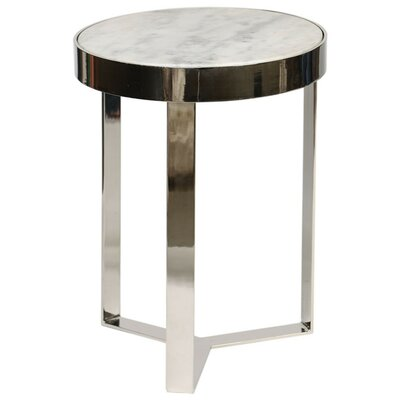 Shepherd End Table Color: White