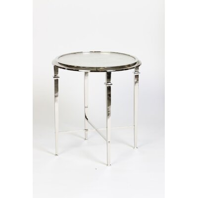 End Table Finish: Polished Nickel