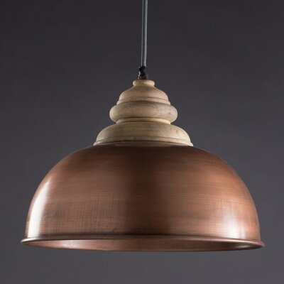 Keaton 1-Light Inverted Pendant