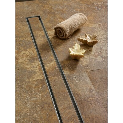 Tile In-Lay Linear 27 Grid Shower Drain