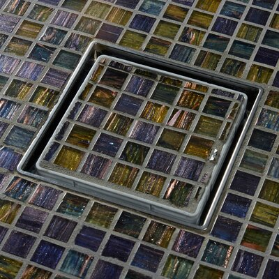 Tile In-Lay 6 Grid Shower Drain