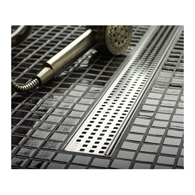 Square Linear 36 Grid Shower Drain