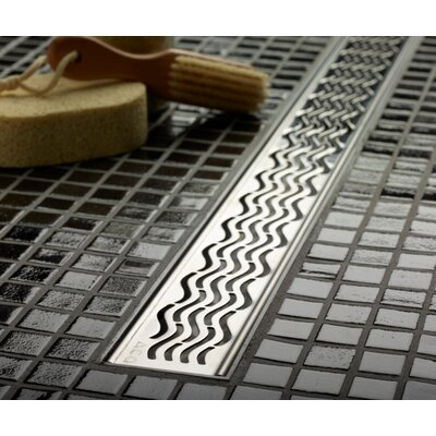 Wavy Linear 36 Grid Shower Drain