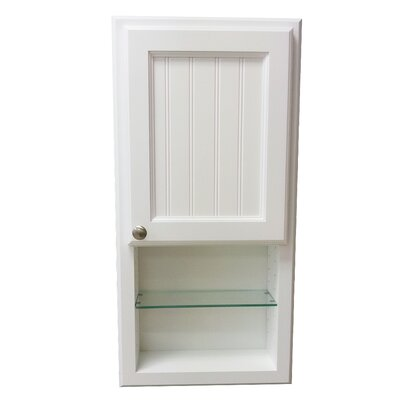 York Series 15.5 x 31.5 Surface Mount Medicine Cabinet