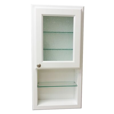 York Series 15.5 x 37.5 Surface Mount Medicine Cabinet