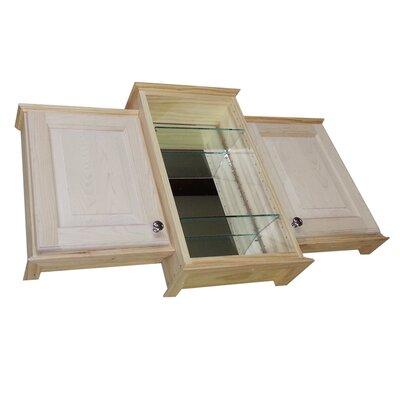 Drexel Triple Series 43.25 x 25.5 Surface Mount Medicine Cabinet