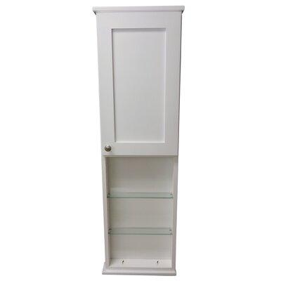 Lancaster Series 15.25 x 49.5 Surface Mount Medicine Cabinet Size: 6.25