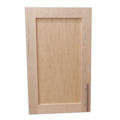 Cumberland 15.5 x 23.5 Recessed Medicine Cabinet Finish: Unfinished, Depth: 3.5
