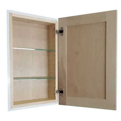 Cumberland 15.5 x 25.5 Recessed Medicine Cabinet Depth: 3.5, Finish: Unfinished
