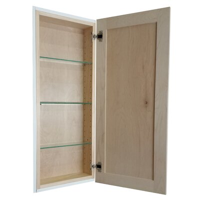 Cumberland 15.5 x 31.5 Recessed Medicine Cabinet Finish: Unfinished