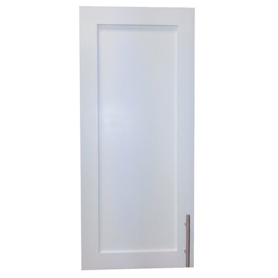 Cumberland 15.5 x 19.5 Surface Mount Medicine Cabinet Finish: White Enamel