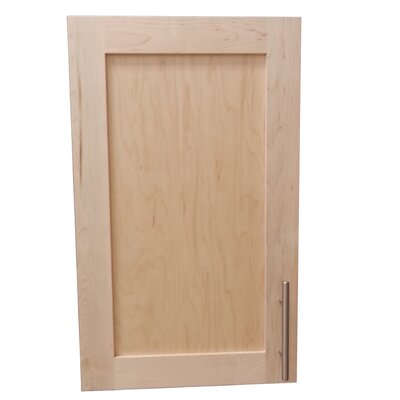 Cumberland 15.5 x 23.5 Surface Mount Medicine Cabinet Finish: Unfinished Pine