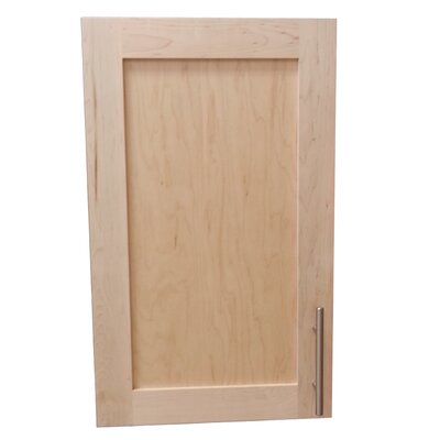 Cumberland 15.5 x 19.5 Surface Mount Medicine Cabinet Size: 3.25, Finish: Unfinished Pine