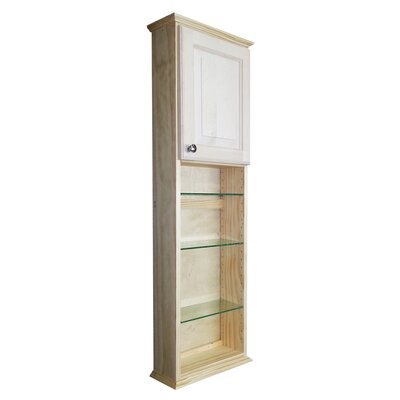 Ashley Series 15.25 x 49.5 Surface Mount Medicine Cabinet